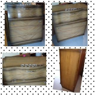 1950's Five Drawer Dresser