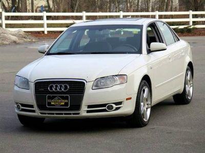 2006 Audi A4 2.0T quattro (White)