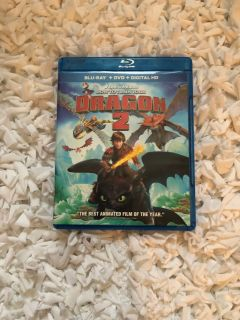 How to train your dragon 2 blue ray