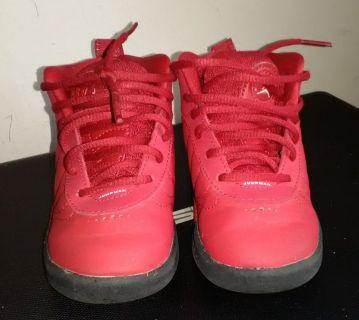 Air Jordan's High Tops size 7 kids