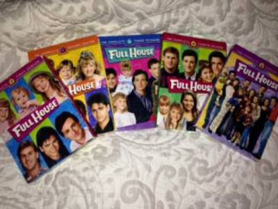 Full House - Seasons, 1, 2, 3, 4 and 8