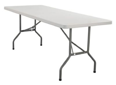 "30 X 72"" BANQUET PLASTIC FOLDING TABLE"