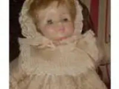 Doll-Vintage Effanbee baby doll. (okc)