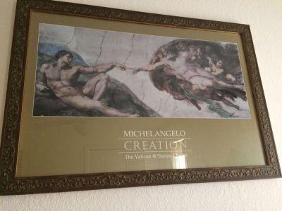 Michelangelo Creation Print