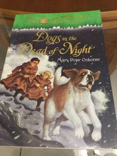 NWT! #46 Magic Tree House! A Merlin! Dogs In The Dead of Night Children s Book! NS Meet AB Park or PPU