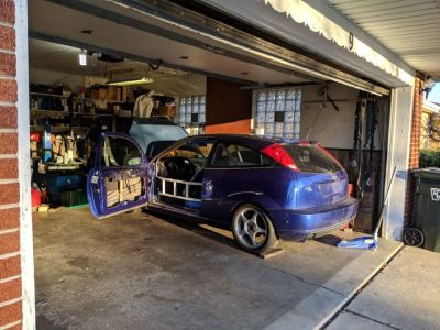 2002 Ford Focus SVT Caged PROJECT - NASA ST6 Potential