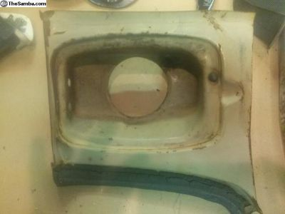 gas inlet repair section