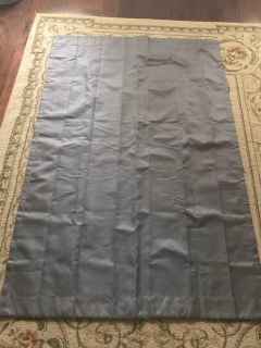 Gray Pewter Blackout Curtain 42 x 63