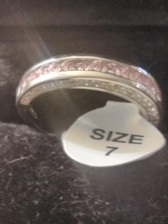 NWT PINK SAPPHIRE RING