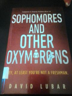 Sophomores and other oxymoron hard back book