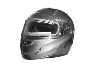Buy ZOX GENESSIS RN2 SVS SILVER 2XL HELMET W/ELECTRIC SHIELD 86-56336 motorcycle in Ellington, Connecticut, US, for US $289.95