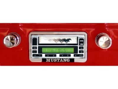 Buy 1964-1966 Ford Mustang USA-1 Custom Autosound Radio (Black Face) motorcycle in Vista, California, United States, for US $207.95