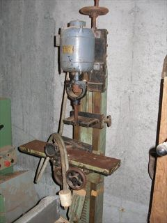 Oliver 194- D tilt table hollow chisel mortisre