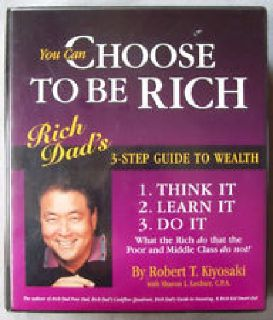 "Rich Dad, Poor Dad Program 3 Step Guide to Wealth Course ""MAKES A GREAT GIFT"" MAKE ME A REASONABLE OFFER!!!"