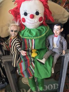 Creepy doll collection
