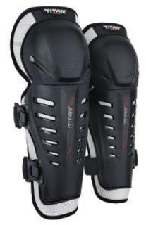 Buy Fox Racing Titan Race 2014 Youth Knee/Shin Guards Black motorcycle in Holland, Michigan, US, for US $34.93