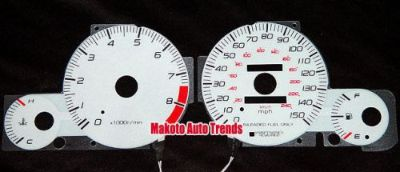 Find 150MPH Glow Gauge 6 Color w/ Inverter Set New For 97-02 Honda Prelude MT motorcycle in Monterey Park, California, United States, for US $24.99