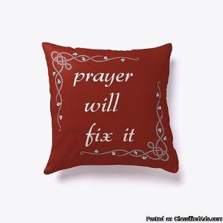 Decorative Religious Based Pillows