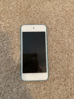 blue apple ipod touch