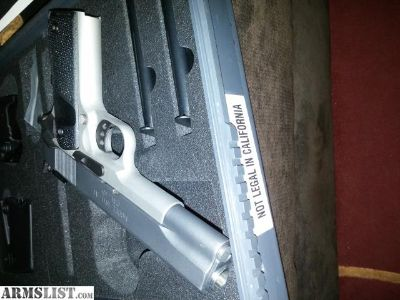 For Sale/Trade: WTT/S off roster Springfield 1911 range officer.