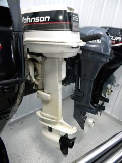 1995 Johnson J25RLCEM Fishing Outboard Motors Kaukauna, WI