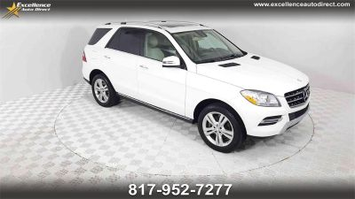 2015 Mercedes-Benz M-Class ML350 (Polar White)