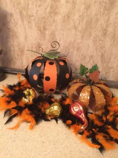 Get in the Halloween spirit with these special decorations! Near 46 and 2722.