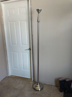 Floor lamp. Works. Can't find shade. Free