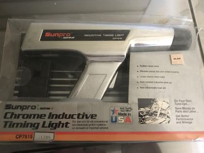 Sun pro inductive timing light cp7515