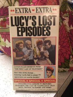 Lucy s Lost Episodes VHS