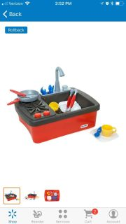 HOT Christmas gift this year - Little Tikes Play Sink & Stove