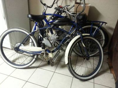 Motorized beach cruiser