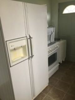 4 appliances fridge, range, microwave, dishwasher