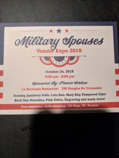 Pioneer Services Military Spouses Vendor Expo