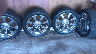 22 cadillac escalade wheels and tires