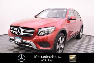 2018 Mercedes-Benz GLC (red)