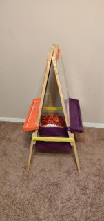 Activity Easel with storage