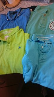 Aeropostale Polos and Tshirts Size M and L