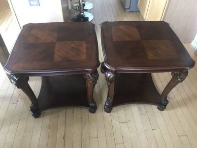 2 Cherrywood End Tables.