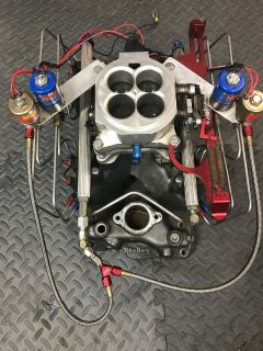 Holley small block Chevy nitrous