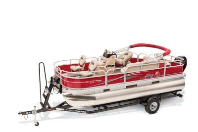 2016 Sun Tracker Bass Buggy 18 DLX Pontoon Boats Boats Gaylord, MI