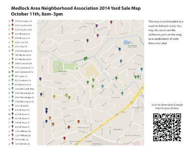 Decatur Neighborhood-wide yard sale, 30 Homes!