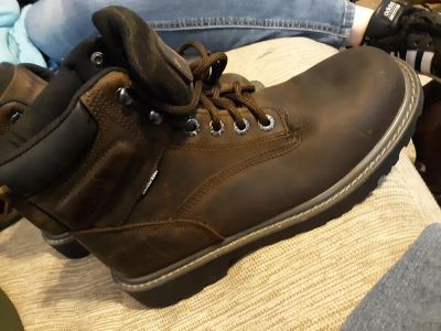 WOLVERINE BRAND NEW SAFETY TOE WORK BOOTS SIZE 7.5