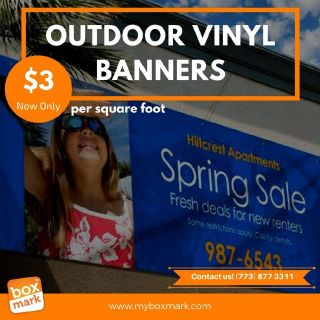 outdoor vinyl banners cheap - Phone: (773) 877-3311