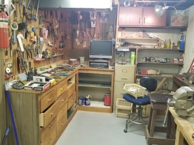 Tools, Woodworking, Electrical and more part of an Estate sale!