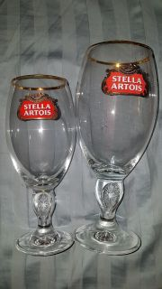 SMALL AND LARGE CHALLIS FROM STELLA ARTOIS