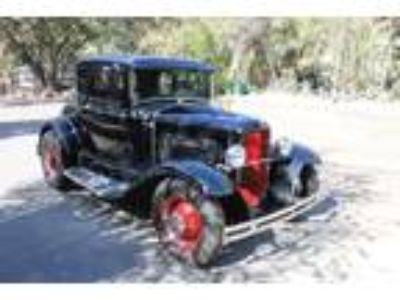 1931 Ford Model A Deluxe Coupe A-V8