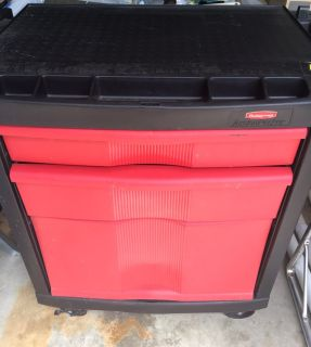 Rubbermaid Tool Cabinet