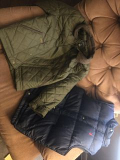 Ralph Lauren bundle jacket and vest great for the cold