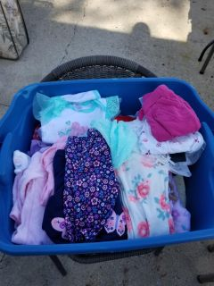 Huge totes full of newborn to 3-6months